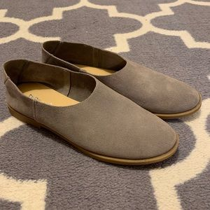 Dirty Laundry Suede Flats
